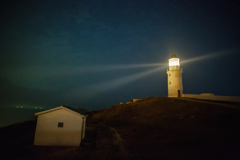 Dongquan Lighthouse (night)